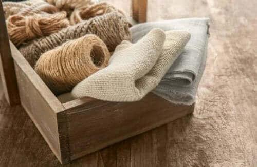 Sackleinen: 5 Deko-Tipps für Zuhause