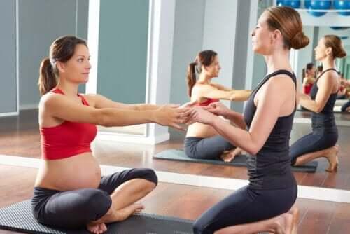 Sportliche Übungen während der Schwangerschaft