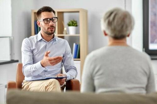 Therapie beim Psychologen