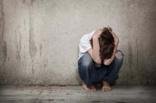 Schizophrenie im Kindesalter - verzweifeltes Kind