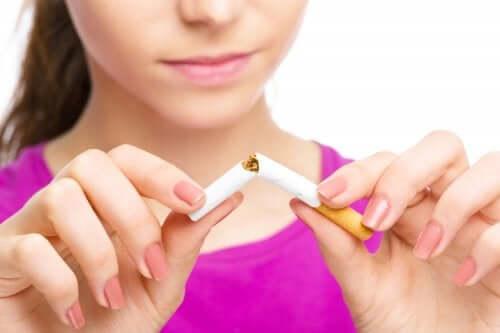 Auslöser für eine Frühgeburt - Zigarette