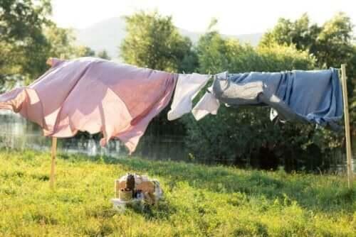 Bei Krätze Wäsche mit 60°C waschen