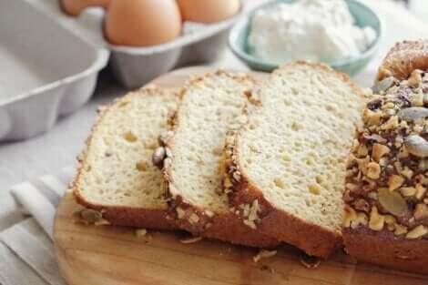 Kokos-Mandel-Brot