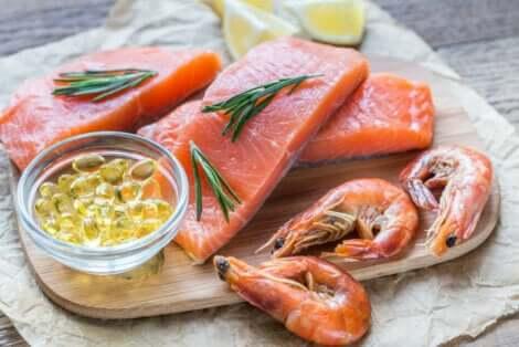 Fisch mit hohem Omega-3-Gehalt