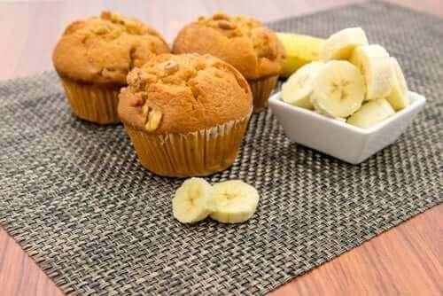 Vegane Leckereien: Schoko-Bananen-Muffins