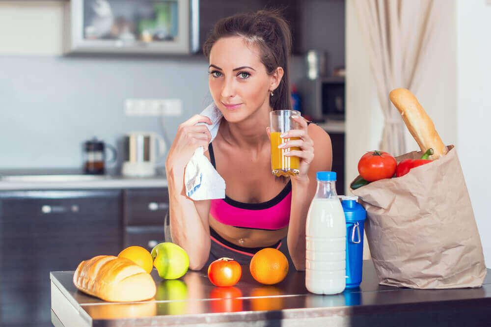 Sportler ernähren sich oft einseitig, um Muskelmasse aufzubauen