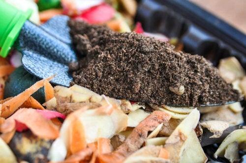Nachhaltiger Garten - Kompost