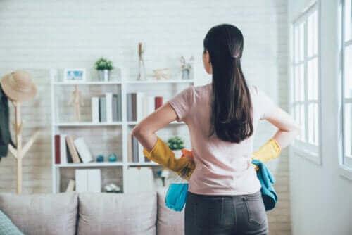 Verwende die 20/10 Methode, um dein Zuhause zu organisieren