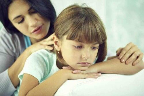 Trauernde Kinder: