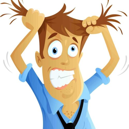 Stress ist ein Gefühl körperlicher oder emotionaler Anspannung