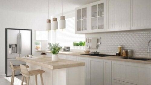 Küche mit natürlichem Licht