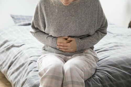 Verdauungsprobleme Frau
