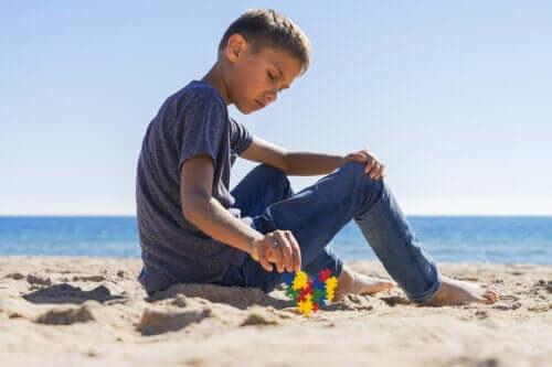 Symptome von Autismus bei Kindern