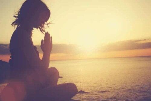 Wenn wir meditieren öffnet dies unseren Geist