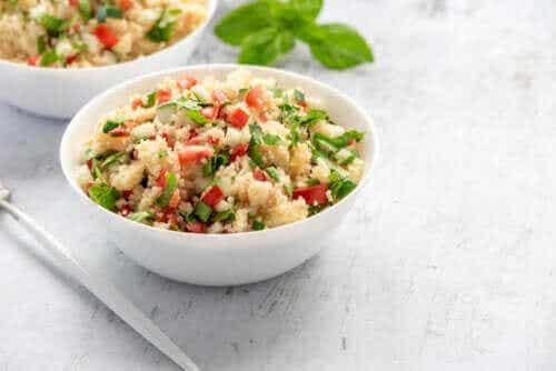 Ein einfaches Rezept für Gemüse-Couscous