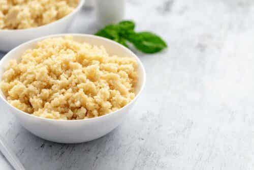 Gemüse-Couscous - Quinoa ist sogar eine sehr gute Alternative