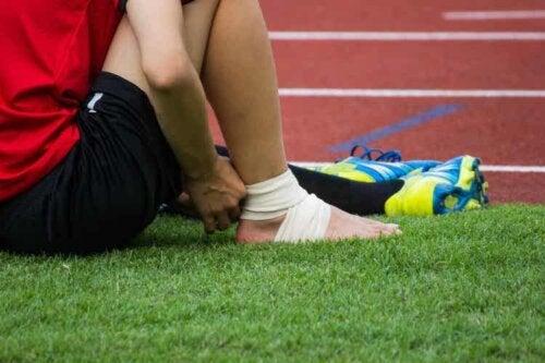 Knöchelverletzungen sind im Fußball keine Seltenheit