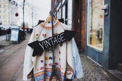 Second Hand-Läden erfreuen sich vor allem aufgrund von Vintage-Stücken an Beliebtheit