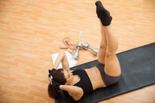 6 Übungen für die schrägen Bauchmuskeln